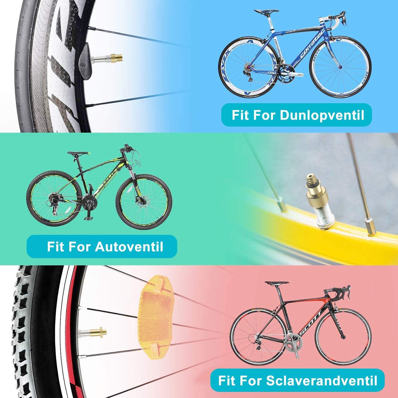 Adaptador de Bomba de Bicicleta - Schrader Presta Adaptador de ...