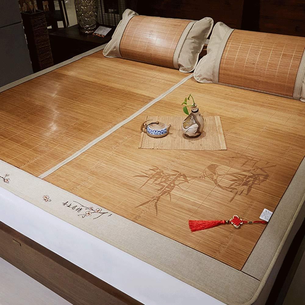 DUAN GUO FENG DGF Sommer Schlafmatte Faltbare Familie Schlafzimmer Studentenwohnheim Schlafmatte