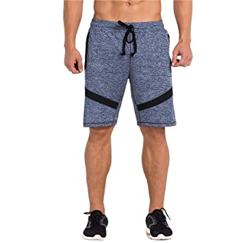 Amazon.com: SEEU Mens Running Shorts, Gym Shorts for Men, 10 Inch ...