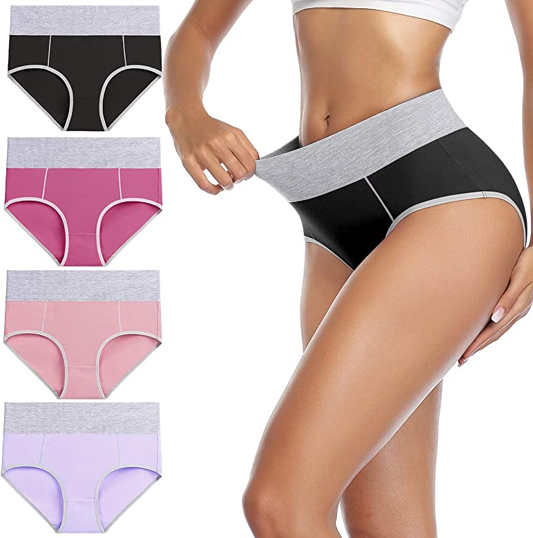Plus Size Ladies White Black Lace High Control brief hold in shapewear 10-24