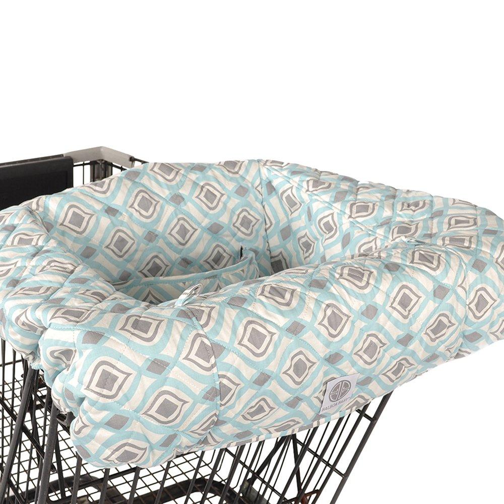 Boheme Shopping Cart and Highchair Cover - 100% Cotton Design by Balboa Baby   B01E4H8SEO