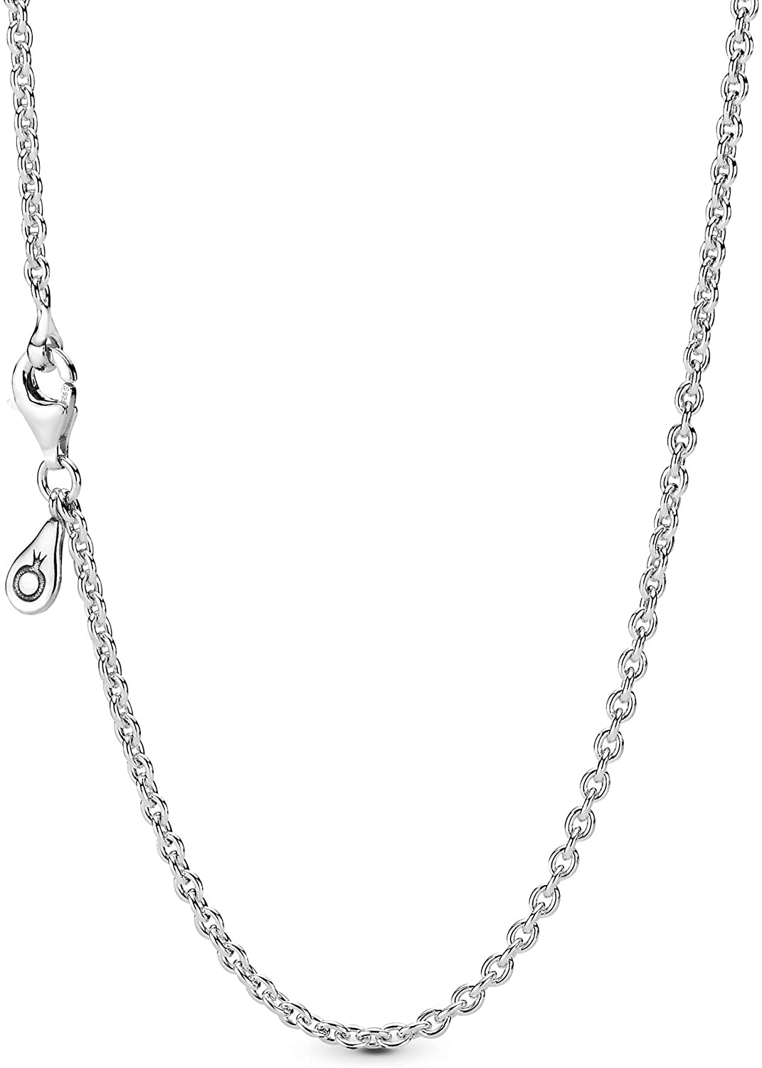 """Pandora Jewelry Silver Chain Sterling Silver Necklace, 17.7"""": Jewelry"""