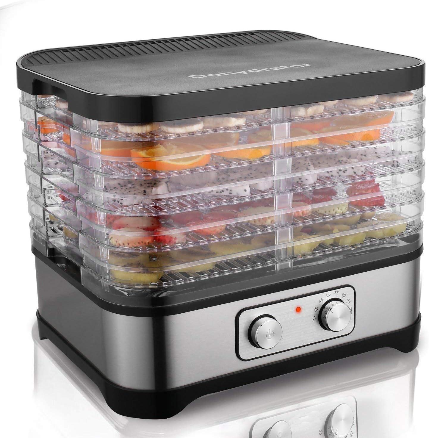 Deshidratador de alimentos Hopekings de 5 pisos por sólo 50,39€ con el #código: TF2U44EZ
