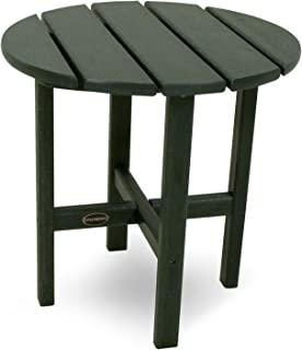 """product image for POLYWOOD RST18GR Round 18"""" Side Table, Green"""