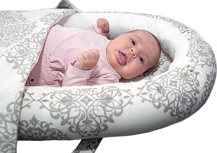 CozySleep Baby Nest / Nid del babbino / Set di peluche / Riduttore per Letto -