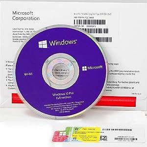 Windows 10 Professional 64 bit OEM - DVD - Windows 10 Pro