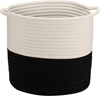 """product image for Colonial Mills Craftworks Basket, 16""""x16""""x16"""", Black"""