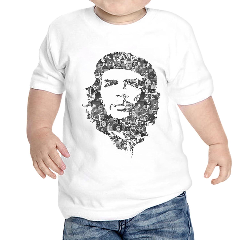thedifferent T-Shirt Neonato Multi Foto Che Guevara