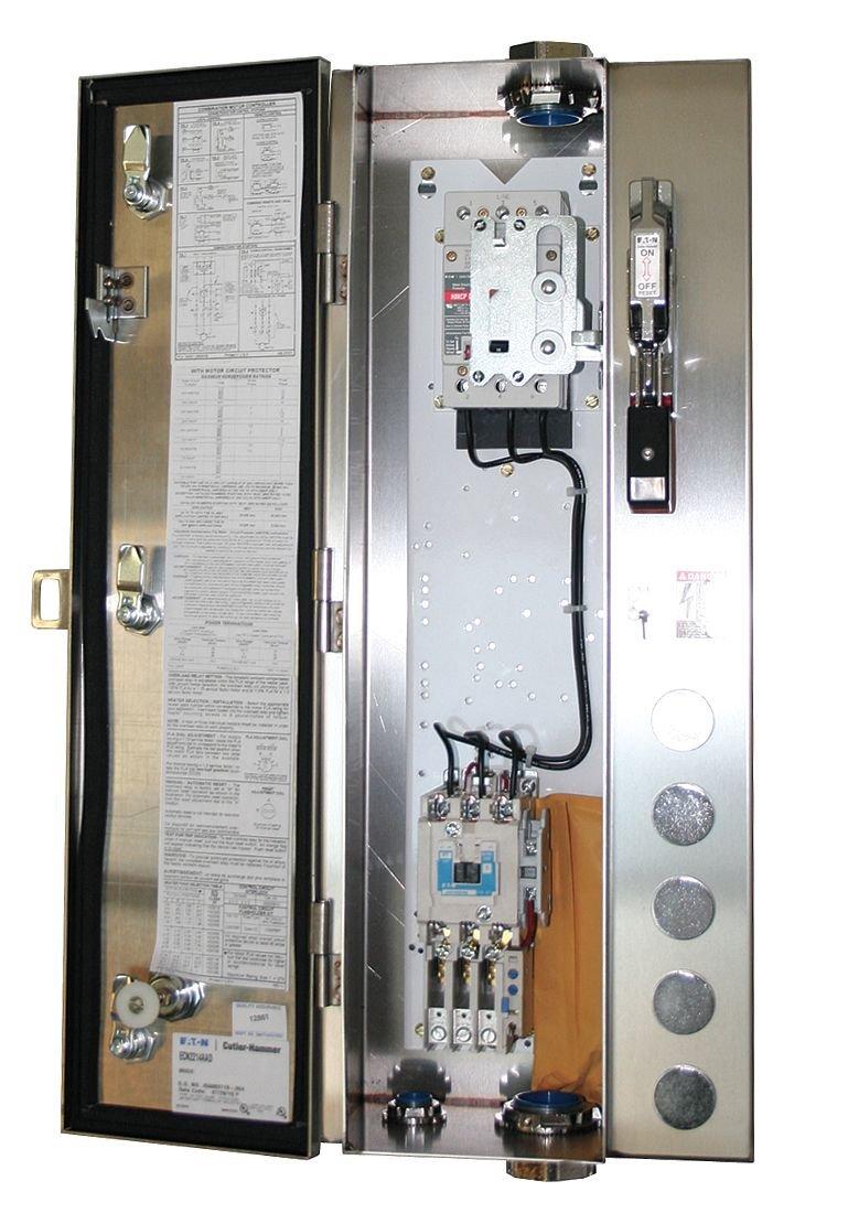120V Coil Size 1 4X Enc NEMA Fusible Str