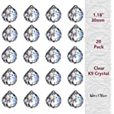 """MerryNine 30mm/1.18"""" Crystal Ball Prism Suncatcher Rainbow Pendants Maker, Hanging Crystals Prisms for Windows, for Feng…"""