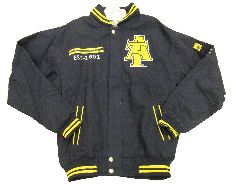 3067cee82 North Carolina A&T University Varsity Trimmed African American Fraternity  HBCU Mens Big & Tall Jacket