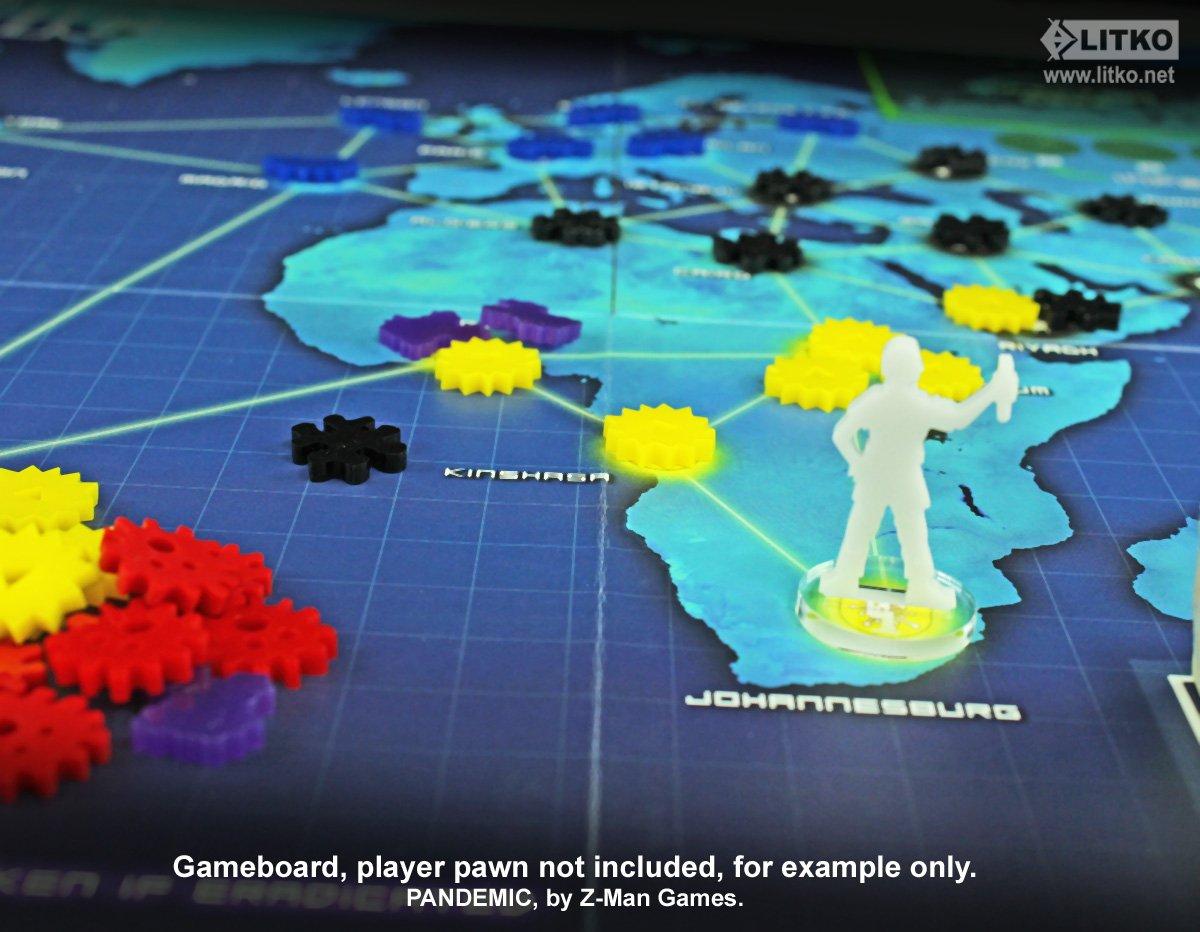 Virus Token Set 120