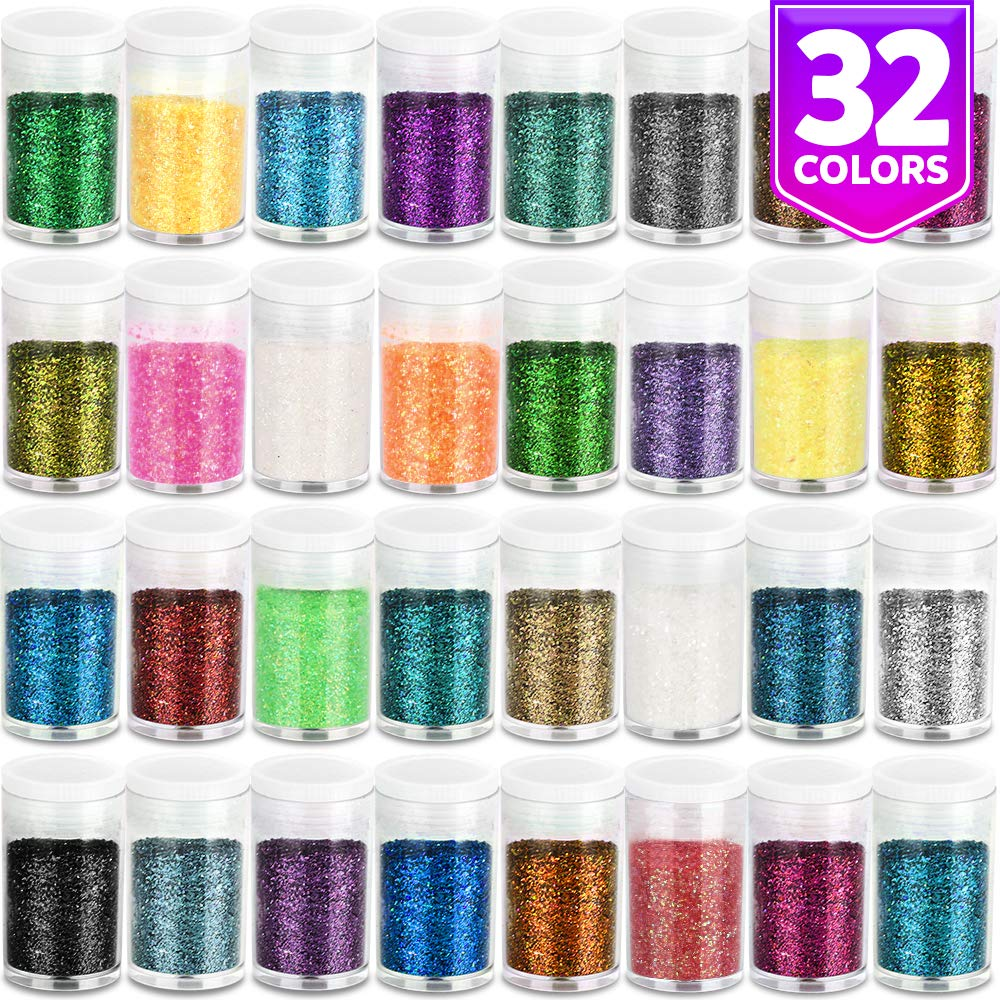 Glitter para slime (32 colores)