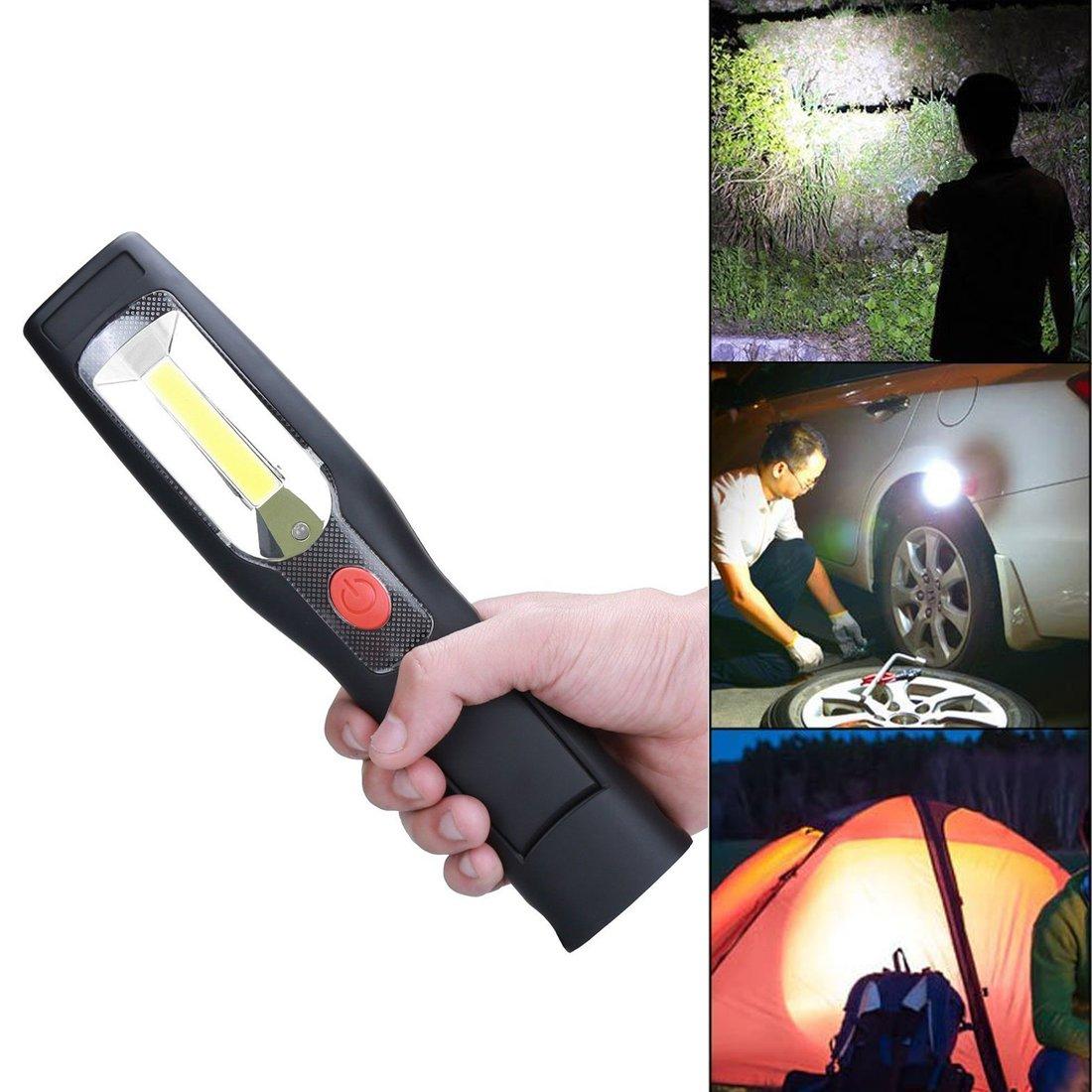 SUPAREE COB kabellos zur Ladung Tragbare, auf dem Haken hä ngende Handlampen, Magnetgriff, 110V & 12V Europä ischer Standard der Ladung, Mehrzwecklampe