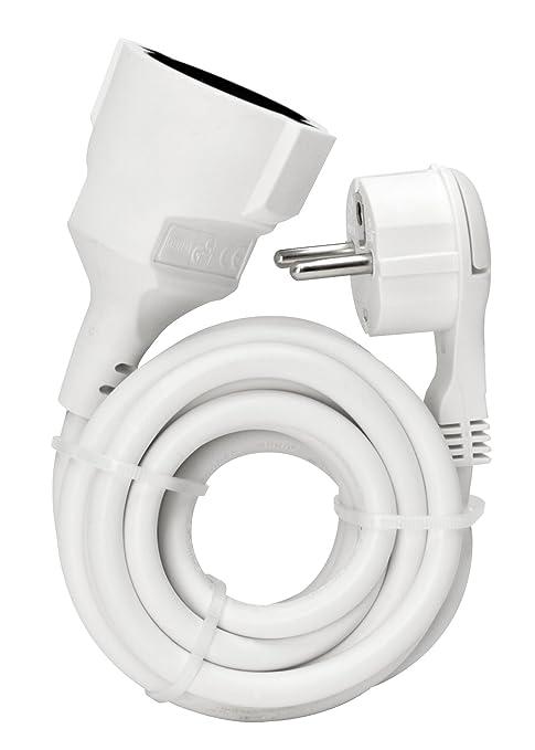 Anschlußleitung  mit Stecker 2m weiß Kopp