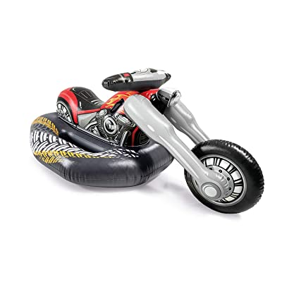 Intex Cruiser Motorcycle Ride-On Pool Toy, for Ages 3+: Toys & Games