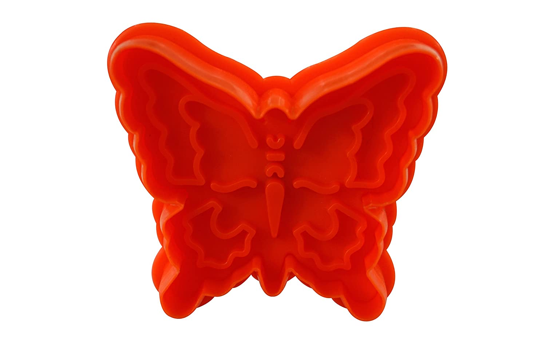 CybrTrayd RM-0401-3LOT R/&M Santa Claus 2.75 Cookie Stamper Red Set of 3
