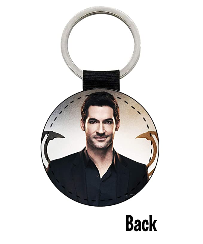 Keyring Bag Tag *Great Gift* Tom Ellis Lucifer