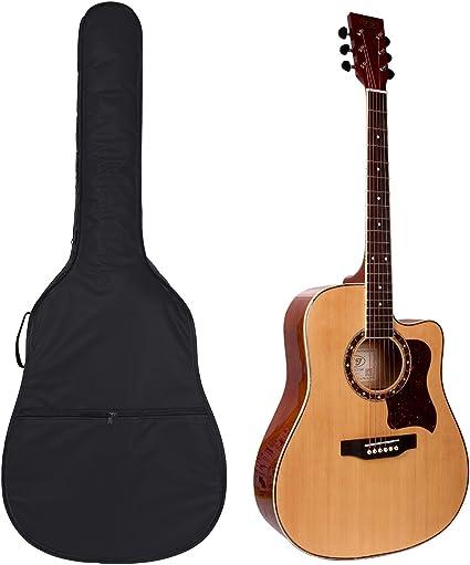 Funda para guitarra clásica y acústica de 105 cm con bolsillo para ...