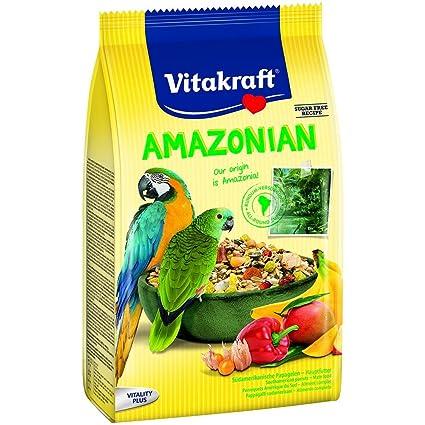 Vitakraft Comida para loros del amazonas (750g/Variado): Amazon.es: Ropa y accesorios