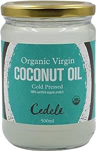 Nature's Nutrition Organic Virgin Coconut Oil, 500ml
