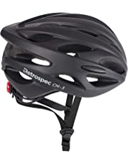 Retrospec by Westridge 3079 CM-3 Road Bike Helmet with LED Light Adjustable Dial, 24 vents