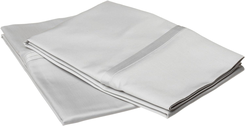 Wamsutta 778 Thread Count 100 Supima Cotton Supreme Luxury Standard Pillowcase Set Silvery Moon Co Uk Kitchen Home