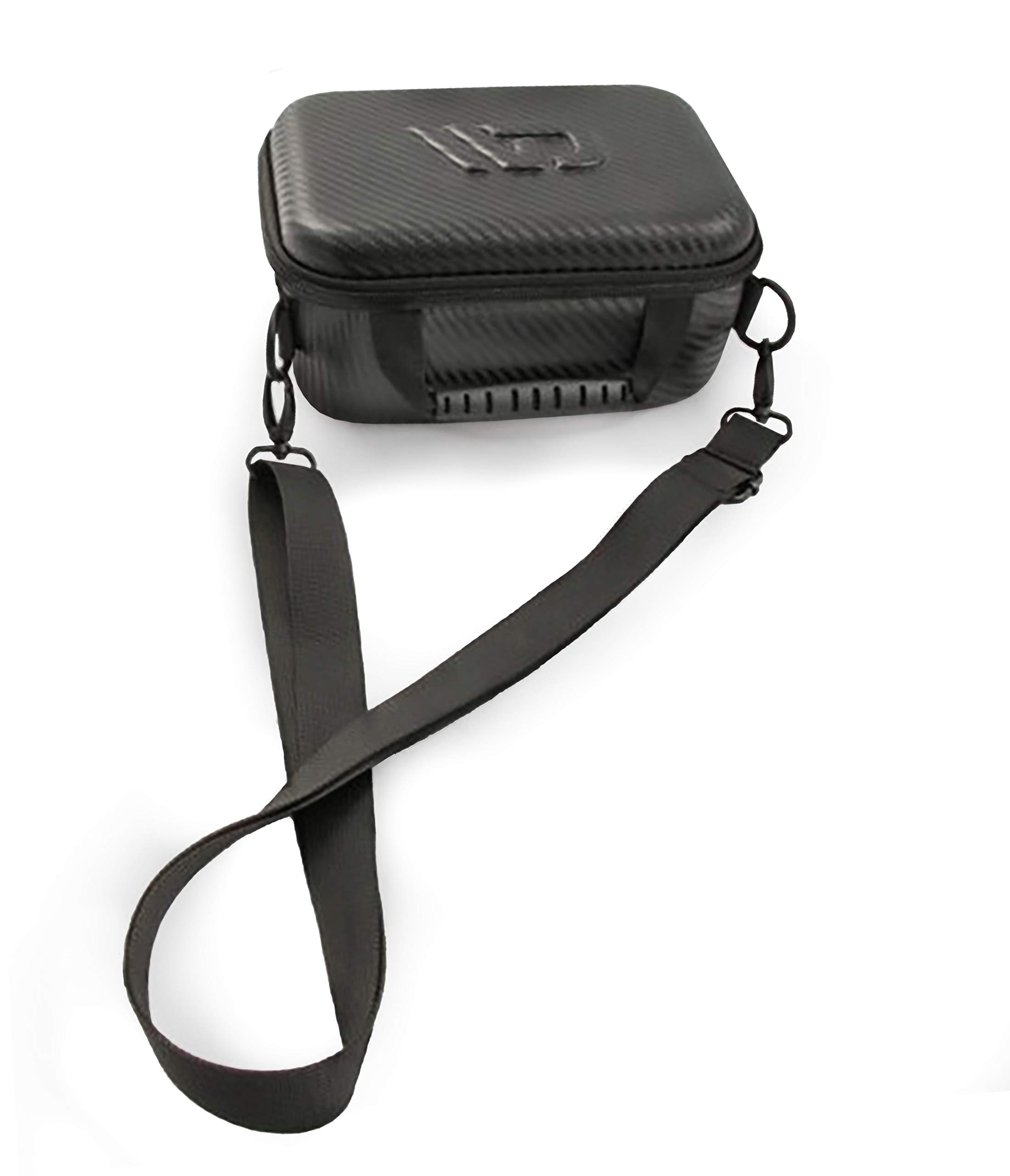 CASEMATIX Travel Carry Case Fits Square Terminal Reader, Square Terminal Printer Paper and Accessories - Shoulder Strap, Water-Resistant by CASEMATIX
