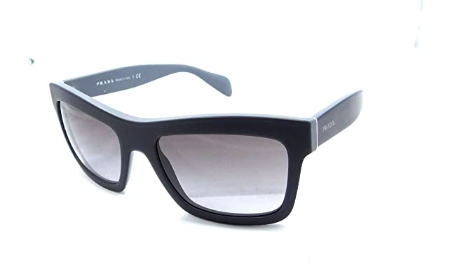 1b17b0e1080 Image Unavailable. Image not available for. Colour  Prada Sunglasses Spr  25q Tfw-3e2 56x19 Matte Blue Grey   Grey Gradient