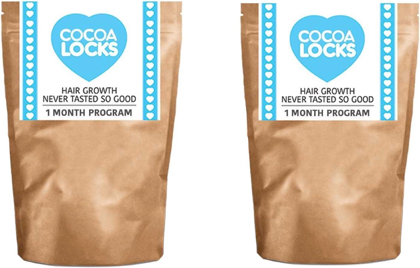 Doble pack Cocoa Locks Chocolate Drink para un crecimiento rápido pelo por 28 días Paquete (2 x 28 días): Amazon.es: Salud y cuidado personal
