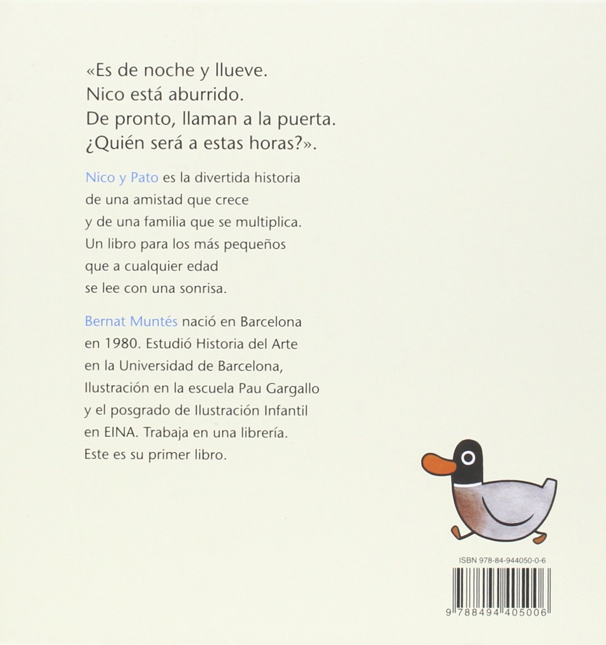Nico y pato (Spanish Edition)