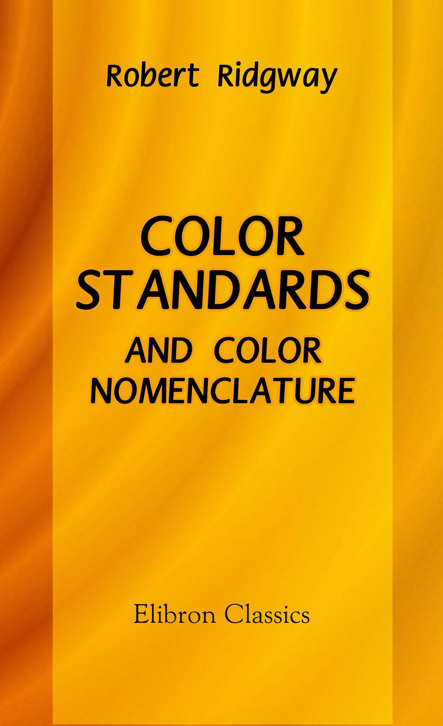 Color Standards and Color Nomenclature pdf
