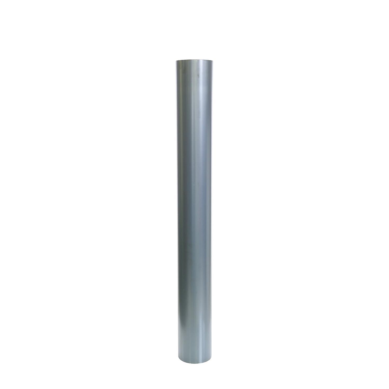 Kamino - Flam - Tubo para chimenea (Ø 120 mm/longitud 1000 mm), Tubo para estufa de leña, Conducto de humos - acero resistente a altas temperaturas ...