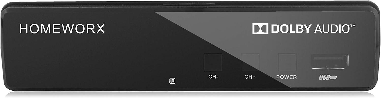 Mediasonic ATSC HDTV Digital Converter Box with TV Tuner and Media Player Function (HW130RN) - Renewed