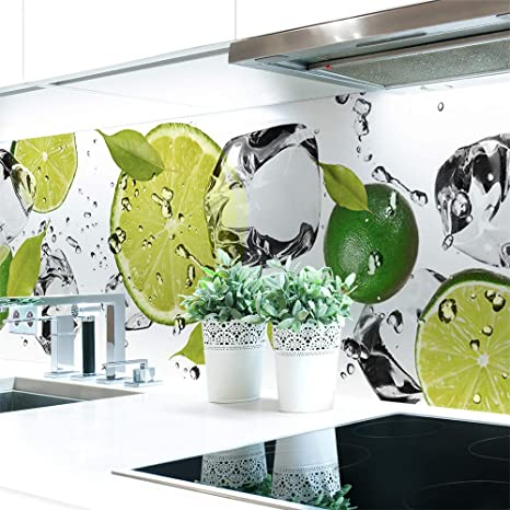 Kuchenruckwand Tafelkreide Premium Hart Pvc 0 4 Mm Selbstklebend