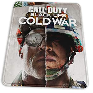 KRISMARIO Call-of-Duty_Black Ops Cold War Mouse Pad, Premium-Textured Printing Mouse Mat, Non-Slip Rubber Base Mousepad for Laptop, Computer & Pc, 8.3 X 10.3 in