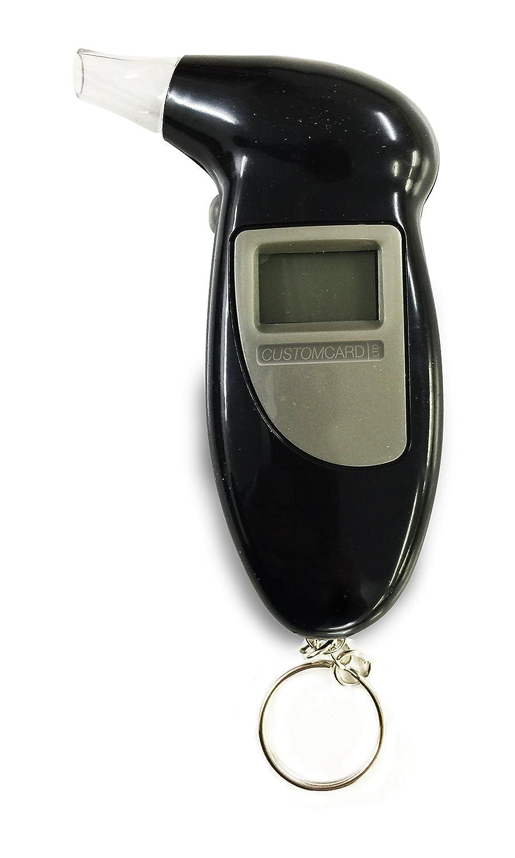 Customcard ltd® Digital Alcohol Breath Tester Analyser Breathalyzer with LCD Display Keychain Breath1