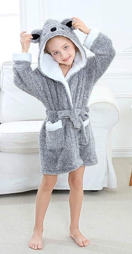 Amazon.com: Timsophia - Albornoz con capucha para mujer ...