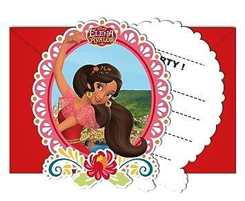 Juego de 12 tarjetas de invitación Juego de * Elena de ...