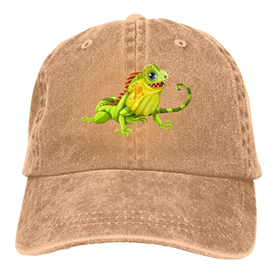Poison Dart Frog Embroidered Cotton Cap NEW Reptile Amphibian Hat