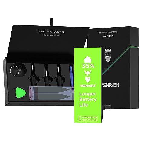 8cd912c4a5b Hagnaven® Batteria ai polimeri di litio per iPhone 6s