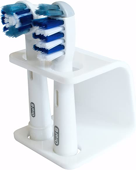 Electric Toothbrush Holder Head Organizer Stand Base For Braun Oral-B White