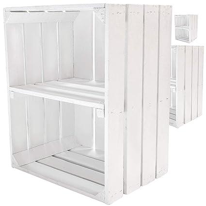 Kontorei® - Caja para fruta (también ideal para zapatos y CD,
