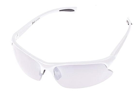 Crivit® Sportbrille - Ultralieicht - 100% UV-Schutz + Wechselgläser + Etui + Putztuch + Brillen Kordel Anthrazit-Glänzend coxFXrn6