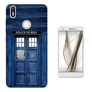 Doctor Who Tardis Police Call Box Bq Aquaris X/X Pro 5.2