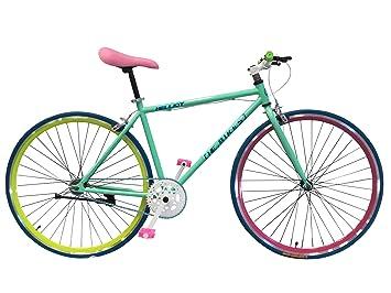 Wizard Industry Helliot Soho 5314 - Bicicleta Fixie, Cuadro de Acero, Frenos V-