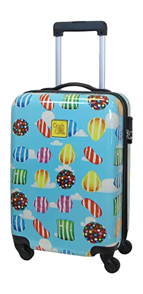 Candy Crush cabina Bolsa All Over Print pequeñas, Multi Color, Una talla