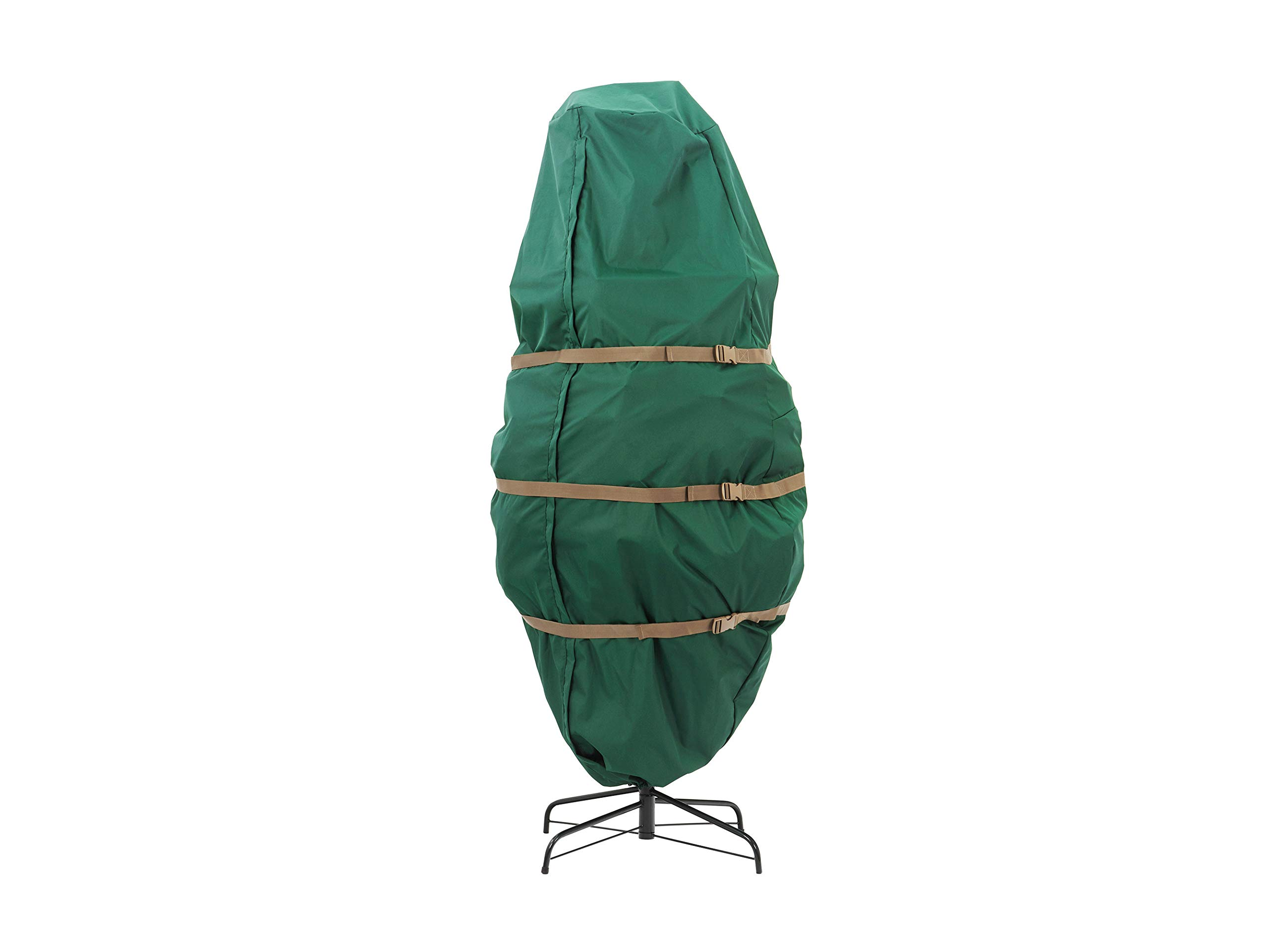 CoverMates – Holiday Upright Tree Storage Bag – Fits 7.5 to 9 Foot Tree – 3 Year Warranty- Green