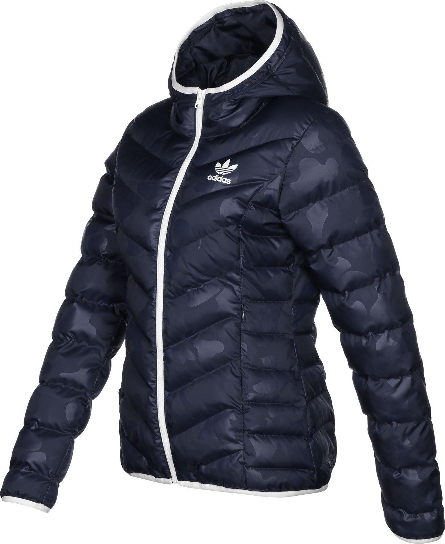 adidas Slim AOP W Winterjacke legend ink: : Sport