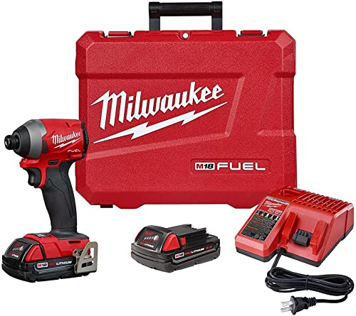 Milwaukee MLW 2853-22 M18 Fuel 1 4IN Hex Impact Driver XC Kit